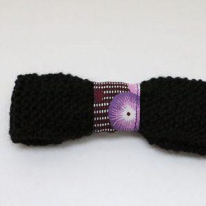 Cazamarmaille-barrette-laine-noir-tissu-violet-recto-web