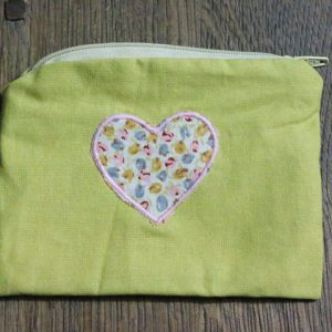 Cazamarmaille-porte-monnaie-jaune-coeur-fleur