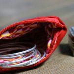Cazamarmaille-porte-monnaie-rouge-coeur-graphique-ouvert
