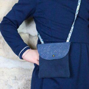 Cazamarmaille-sac-cuir-bleu-paillettes-tissu-liberty-1-web