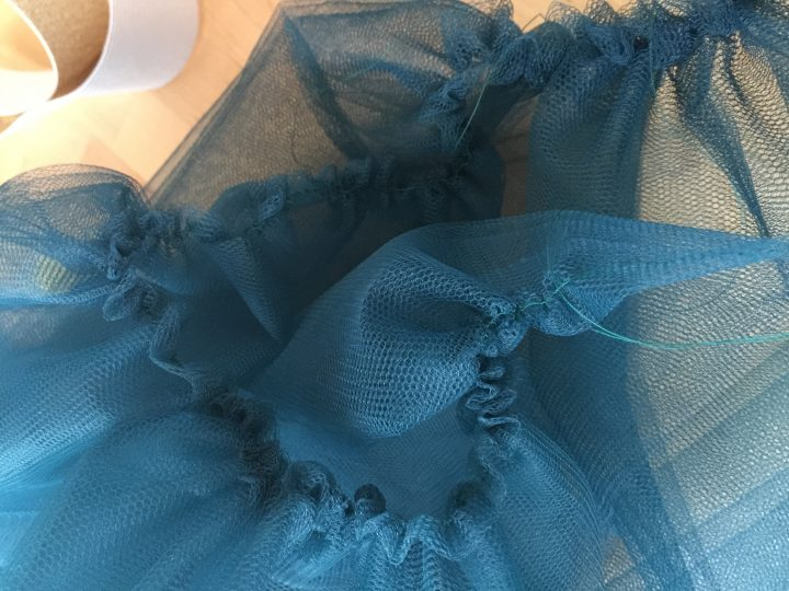 Cazamarmaille tuto jupon tulle Photo 4