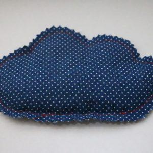 Cazamarmaille-bouillotte-sèche-nuage-bleu-marine-pois-blancs
